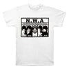 N.W.A NWA Worlds Most Dangerous Group WHITE Compton CA T-Shirt-Cyberteez