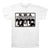 N.W.A NWA Worlds Most Dangerous Group WHITE Compton CA T-Shirt