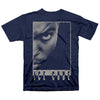 N.W.A NWA Ice Cube Profile NAVY Straight Outta Compton T-Shirt-Cyberteez