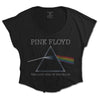 Pink Floyd Dark Side Of The Moon Women's Wide Scoop Dolman T-Shirt-Cyberteez