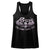 Poison Old School Rock N' Roll Skull Wings Logo Women's Racerback Tank Top