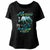 Poison Open Up And Say Ahh! '88 Tour Women's Wide Scoop Dolman T-Shirt