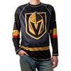 Vegas Golden Knights T-Shirt NHL Longsleeve Performance Jersey Rashguard-Cyberteez