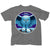 Rush Fly By Night Album Cover Gray T-Shirt