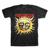 Sublime Sun Logo Black T-Shirt-Cyberteez