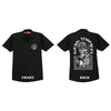 Suicidal Tendencies Skull Middle Finger Black Dickies Workshirt-Cyberteez