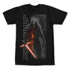 Star Wars Force Awakens Kylo Ren w/ Logo Black T-Shirt-Cyberteez