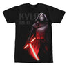 Star Wars Force Awakens Kylo Ren w/ Cross Sabre T-Shirt-Cyberteez