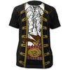 Pirate Jacket Jack Sparrow All Over Print Costume T-Shirt-Cyberteez