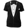 Tuxedo Black Retro Prom Costume T-Shirt (S-3XL)-Cyberteez