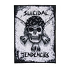 "Suicidal Tendencies RxCx Skull Back Patch 12"" x 8.5""-Cyberteez"