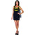 Batgirl Superhero Women's Tank Dress w/Cape Costume