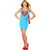 Supergirl Superhero Women's Tank Dress w/Cape Costume
