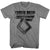 Twisted Sister You Can't Stop Rock And Roll Gray T-Shirt
