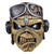 Iron Maiden Aces High Eddie Adult Latex Costume Mask