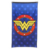 "Wonder Woman Logo w/ Stars Banner Fabric Wall Poster DC Comics 30"" x 50""-Cyberteez"
