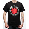 Red Hot Chili Peppers Asterisk Logo Black T-Shirt-Cyberteez