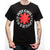 Red Hot Chili Peppers Asterisk Logo Black T-Shirt