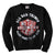 Motley Crue All Bad Things CRUENECK Crewneck Sweatshirt