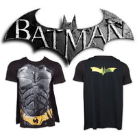 Batman Dark Knight Mens Costume T-Shirt With Cape