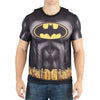 Batman Sublimated Men's Costume T-Shirt With Cape-Cyberteez