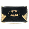 Batgirl Women's Envelope Clutch w/ Chain Batman DC Comics Wallet-Cyberteez