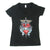 Bon Jovi Heart And Dagger Logo V-Neck Women's T-Shirt