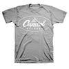 Capitol Records Classic Oval Logo Gray T-Shirt-Cyberteez