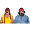 Cheech And Chong Men's Moustache & Wig Costume Kit-Cyberteez