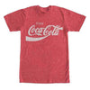 Coca Cola Eighties Coke Classic Logo T-Shirt-Cyberteez