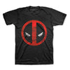 Deadpool Logo Distressed T-Shirt-Cyberteez