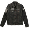 Five Finger Death Punch American Capitalist Eagle Logo Denim Jacket-Cyberteez
