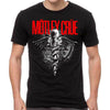 Motley Crue Dr Feelgood Logo Black T-Shirt-Cyberteez