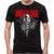 Motley Crue Dr Feelgood Logo Black T-Shirt