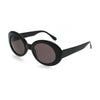 Nirvana Kurt Cobain Sunglasses BLACK Alien Shades Mod Cat Eyes Sun Glasses-Cyberteez