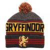Harry Potter Gryffindor House Logo Adult Beanie Knit Hat Cap-Cyberteez