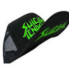 Suicidal Tendencies OG Logo Black Body GREEN Print Flip Up Hat Cap-Cyberteez