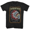 Lynyrd Skynyrd Indian Skeleton T-Shirt-Cyberteez