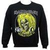 Iron Maiden Killers World Tour 81 Crewneck Sweatshirt-Cyberteez