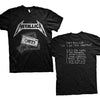 Metallica Demo Cassette Kill Em All No Life Til Leather T-Shirt-Cyberteez