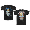 Metallica Doris Pushead Justice For All Black T-Shirt-Cyberteez