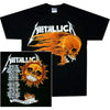Metallica Flaming Sun Pushead Summer Tour '94 T-Shirt-Cyberteez