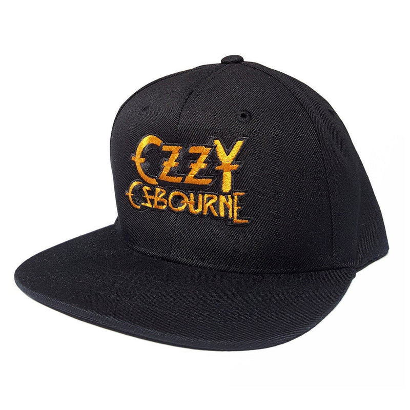 766e8a65fbe Ozzy Osbourne Logo Embroidered Snapback Hat Cap - Cyberteez