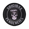 Suicidal Tendencies California Skull Logo Sew Or Iron On Patch-Cyberteez