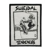 Suicidal Tendencies Lance Skater Logo Sew Or Iron On Patch-Cyberteez