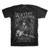 Waylon Jennings Portrait Photo T-Shirt-Cyberteez