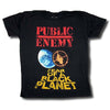 Public Enemy Fear Of A Black Planet Distressed T-Shirt (S-3XL)-Cyberteez