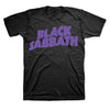Black Sabbath Purple Logo Ozzy T-Shirt-Cyberteez