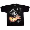 Guns N Roses Slash Les Paul Solo Signature Color T-Shirt-Cyberteez
