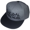 Suicidal Tendencies Logo Gray Embroidered Snapback Baseball Hat Cap-Cyberteez